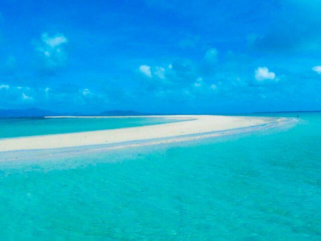 美しい景色をカップルで共有できる浜島