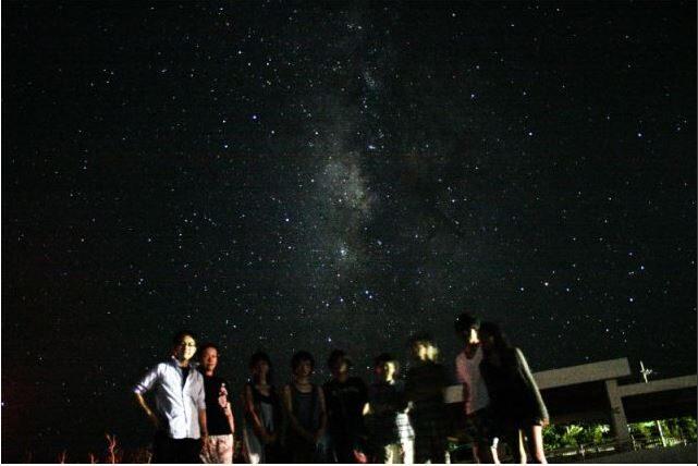 流れ星の見える夜の石垣島