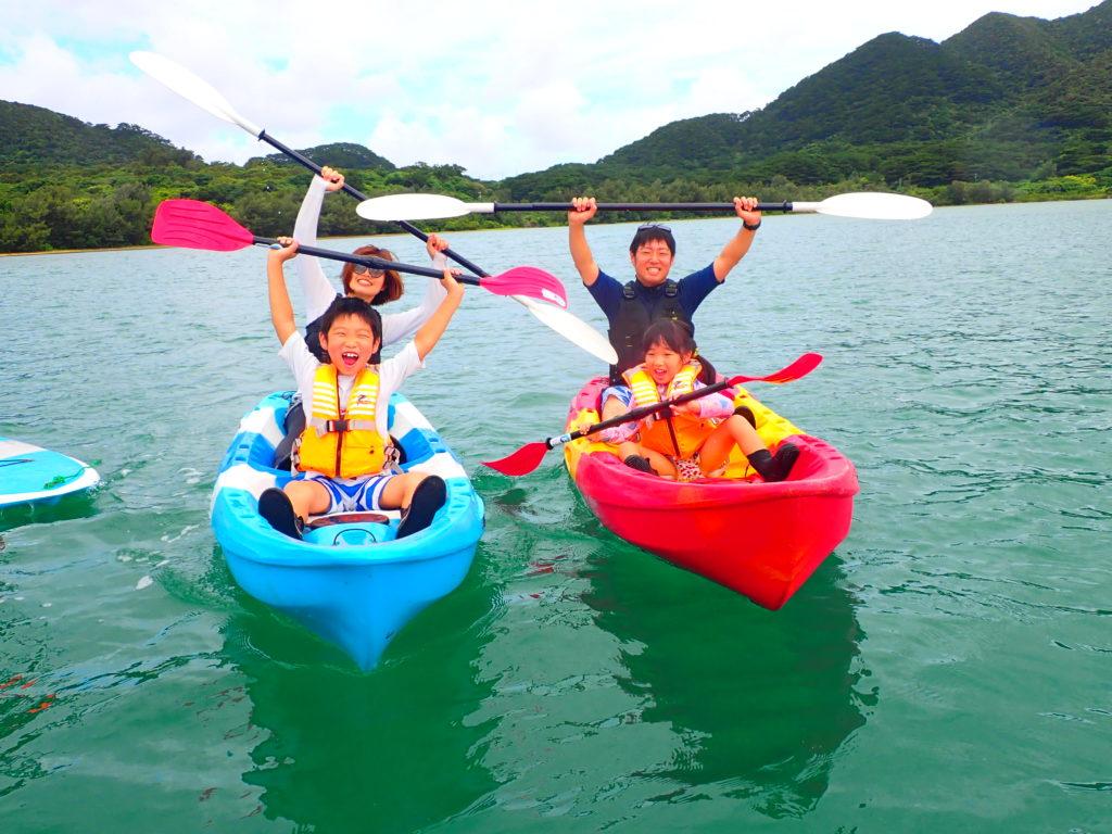 【地域共通クーポン対象】世界有数の透明度を誇る川平湾カヌーツアー(No.302)