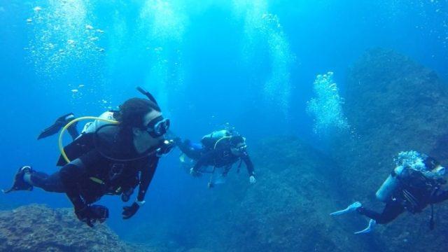 石垣島でダイビングに挑戦