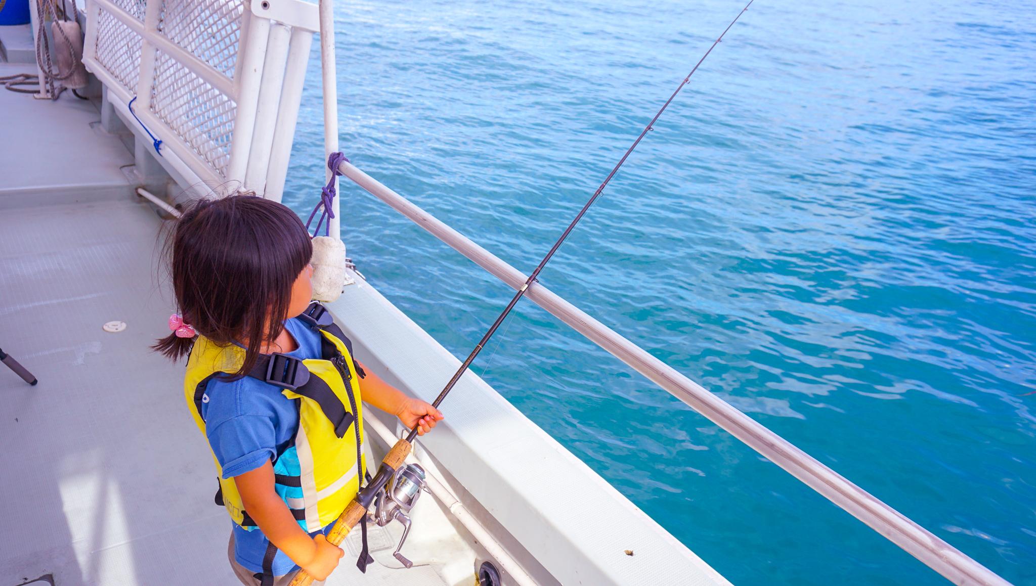 子供一人でも釣りができる