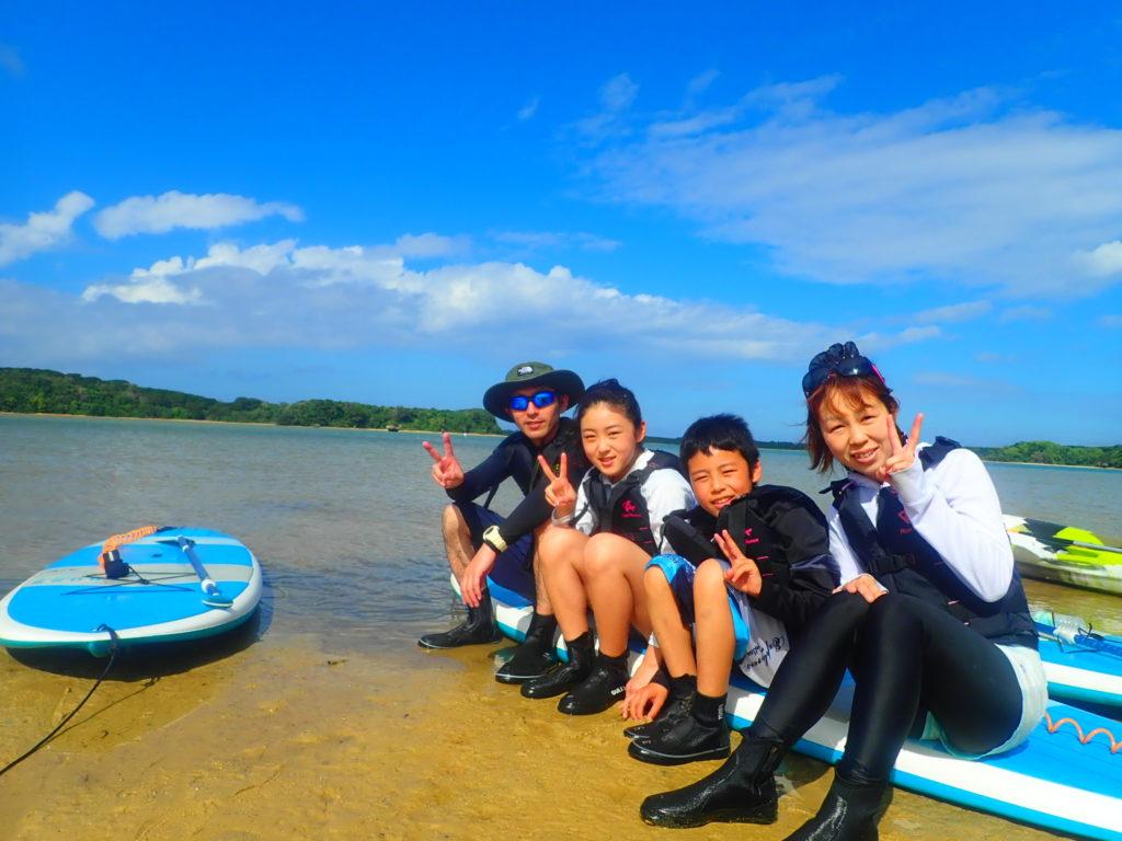 石垣島のSUP