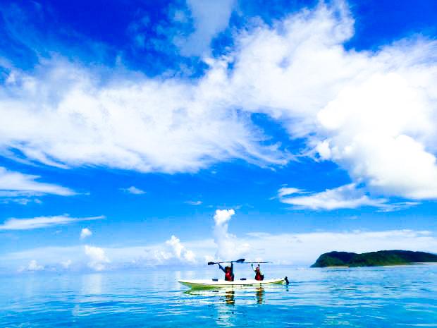 石垣島のシーカヤックツアー