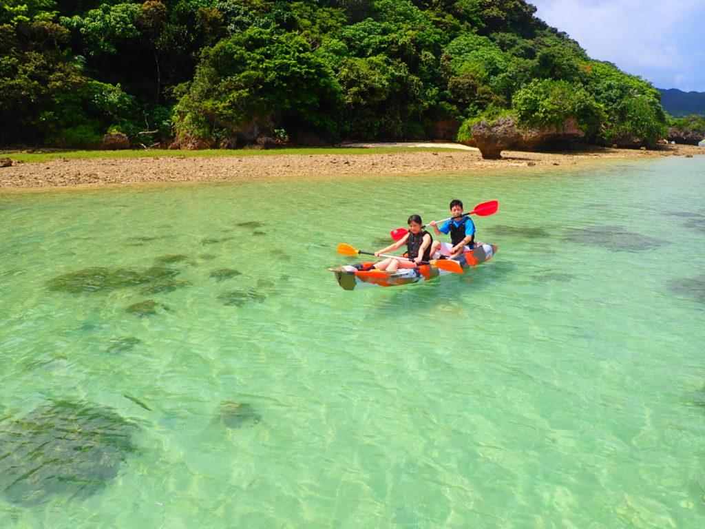 石垣島のカヤック
