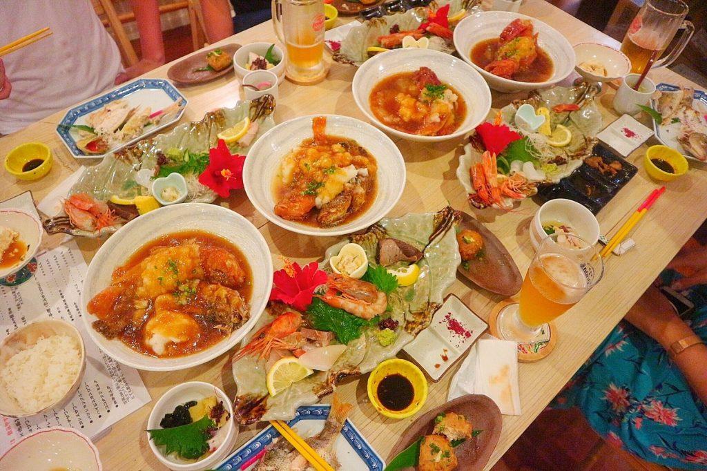 石垣島の魚を使った料理
