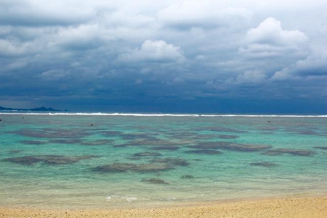 石垣島でWリーフを見るシュノーケル