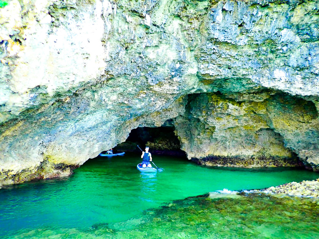 青の洞窟水上パドルボート