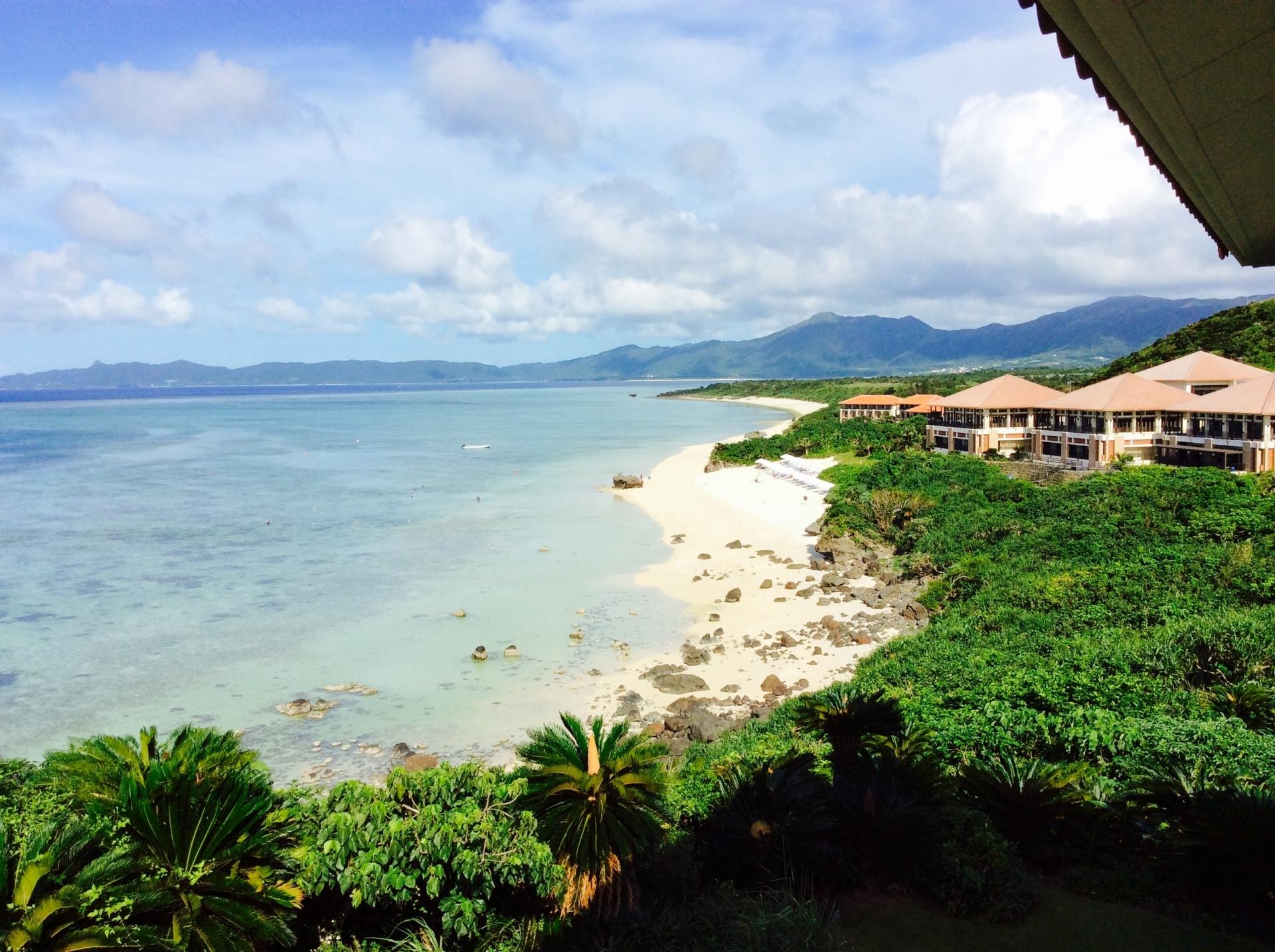 石垣島のホテルから絶景
