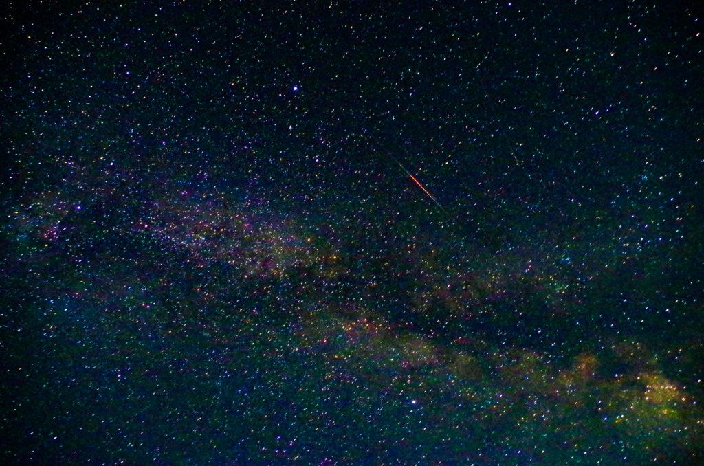 ナイトツアーで見られる満天の星