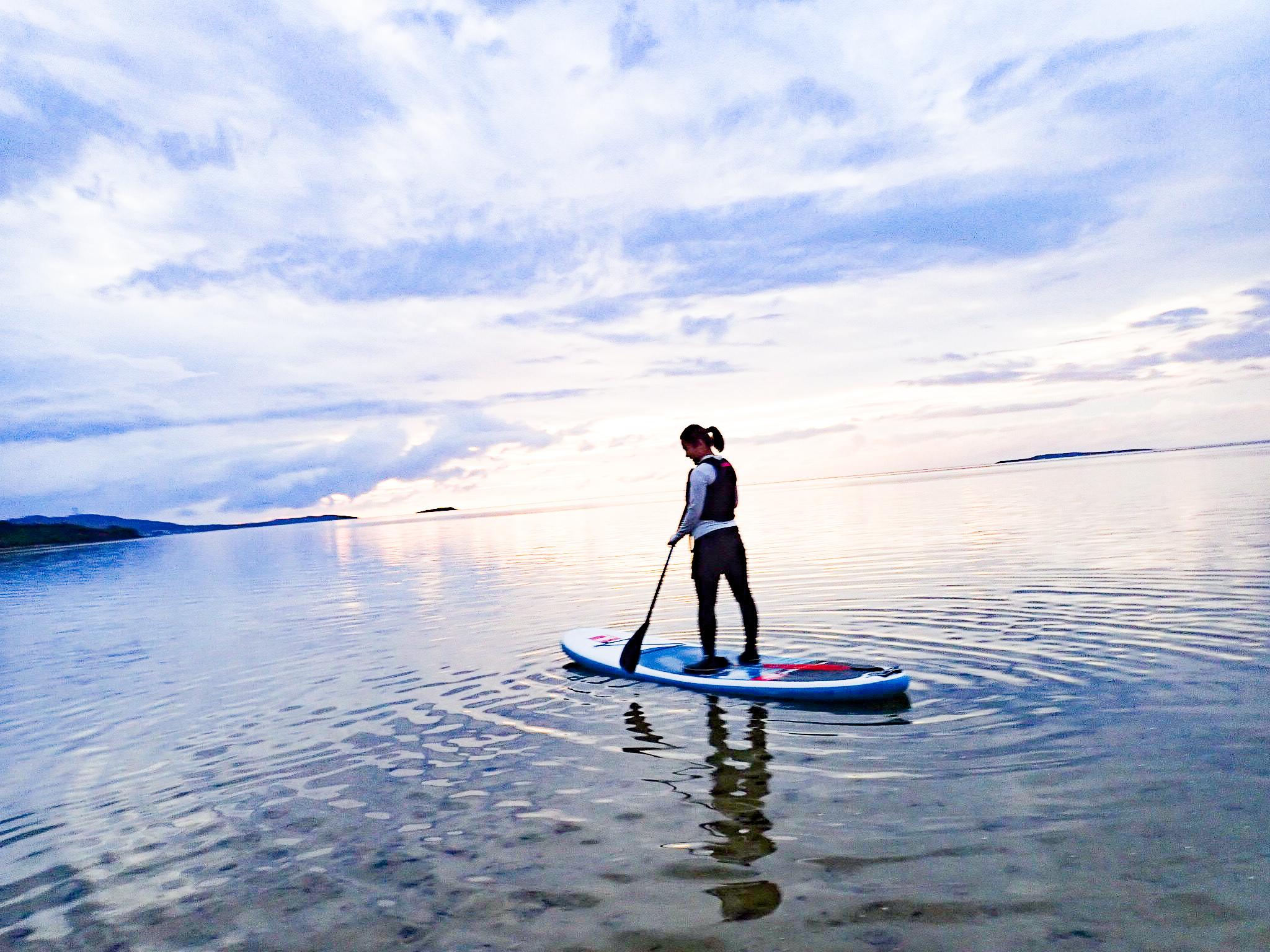 石垣島でのサップ体験