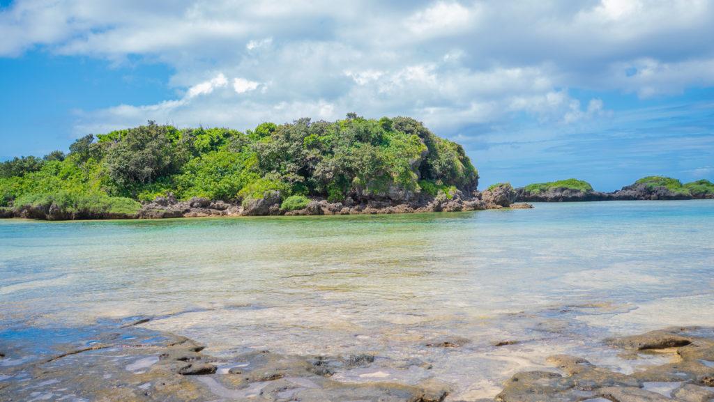 西表島の星砂海岸