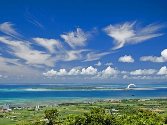 前勢岳展望台からの風景