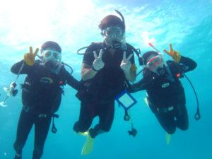 石垣島の体験ダイビング