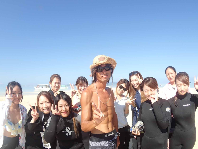 石垣島ダイビング講座で楽しむ潜る