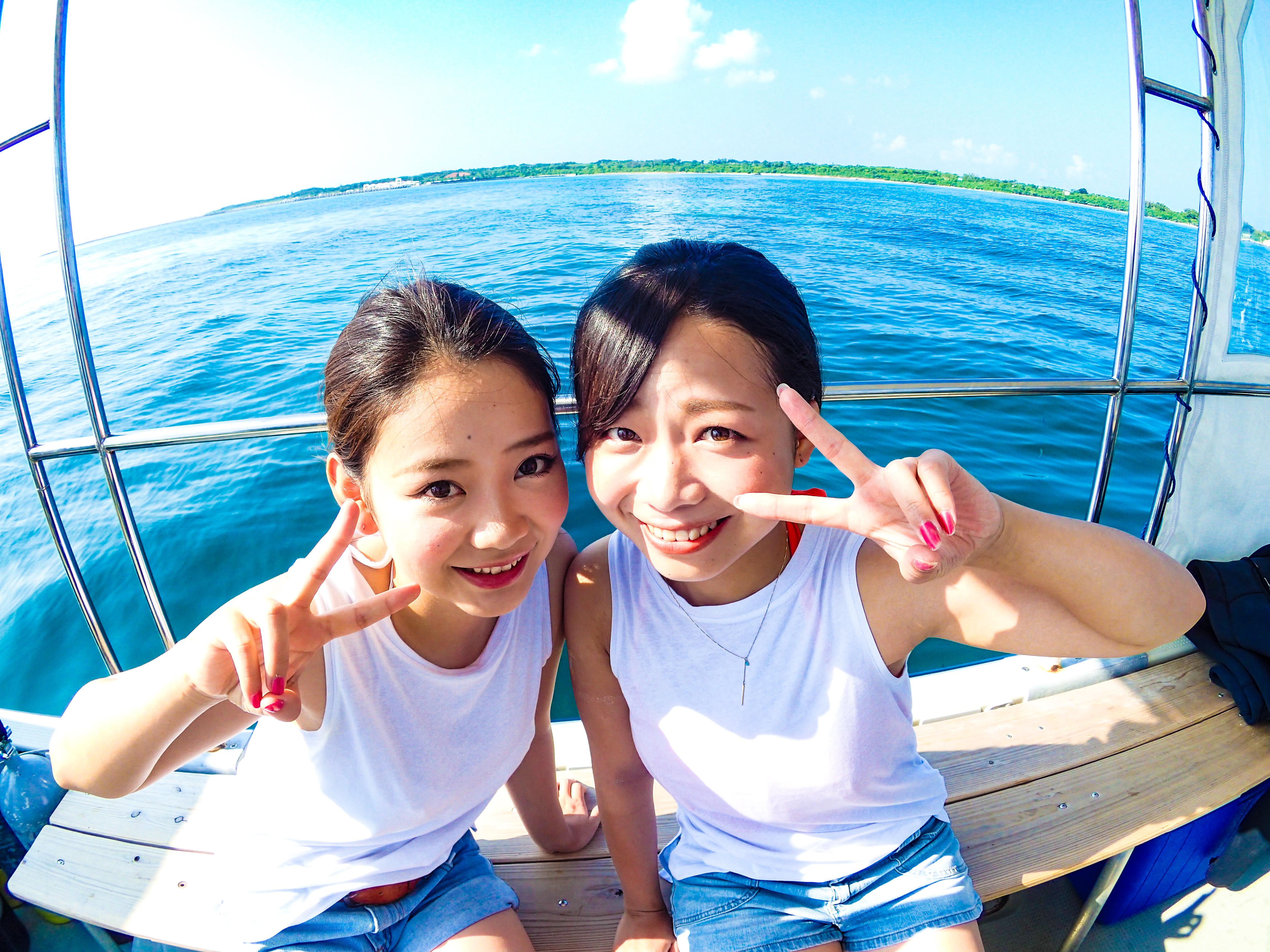 1日満喫パック!「幻の島」体験ダイビング&シュノーケリング&ちょい釣りツアー(ランチ付)(No.346)