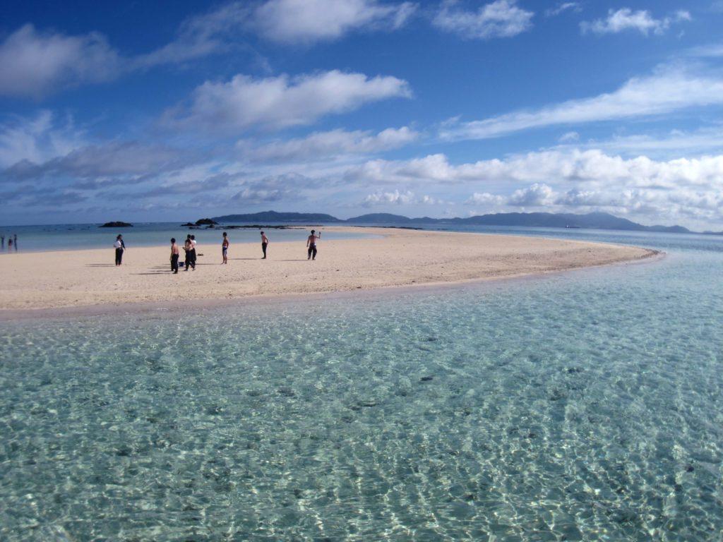 「幻の島」上陸&ウミガメシュノーケリング&体験ダイビング2dive-1日コース(ランチ付き)(No.342)
