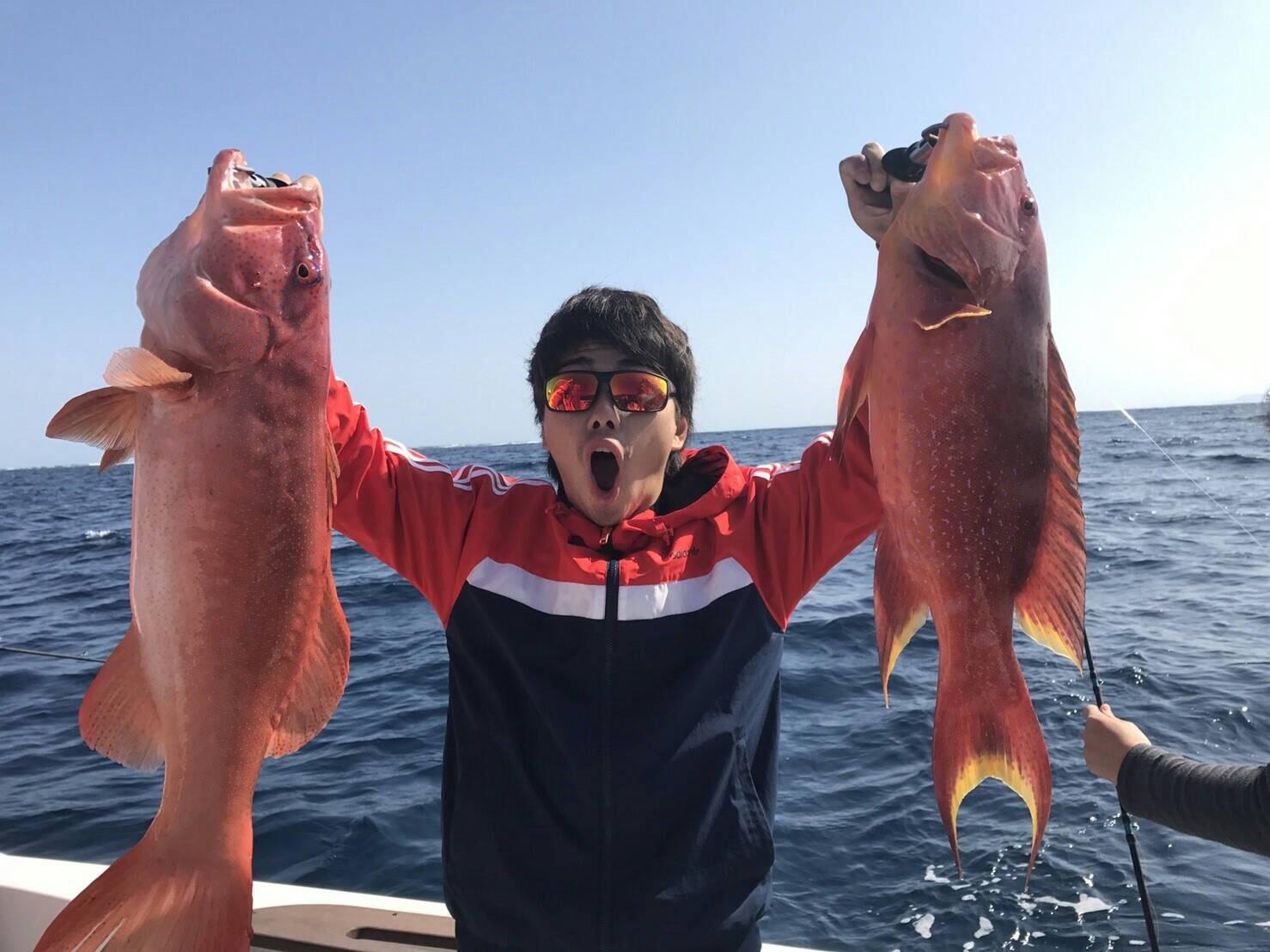 西表島で釣りツアー
