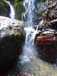 吹通川の屋比久の滝