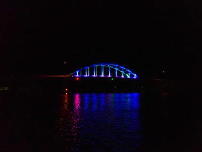 サザンゲートブリッジ、夜景、ライトアップ