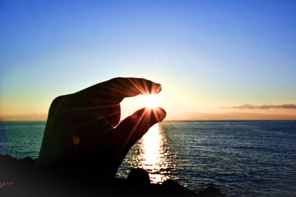 石垣島の早朝サンライズ