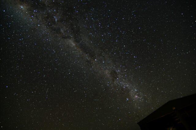 石垣島の星空を鑑賞