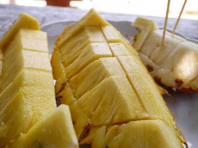 石垣島のスナックパイン