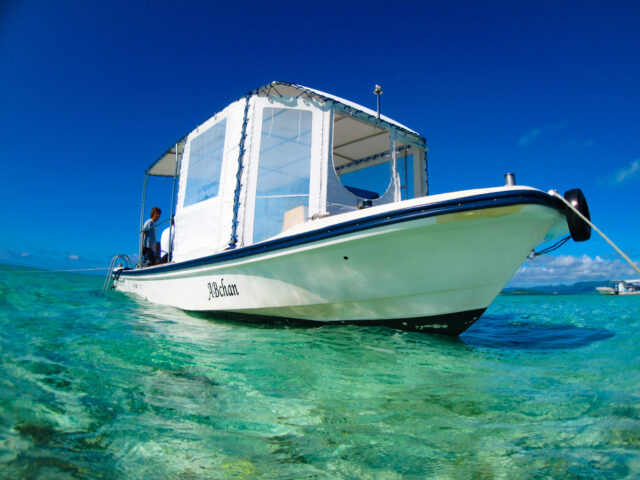 浜島へ向かう船