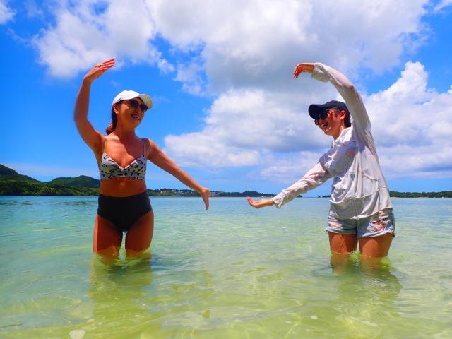 川平湾SUP,女子旅