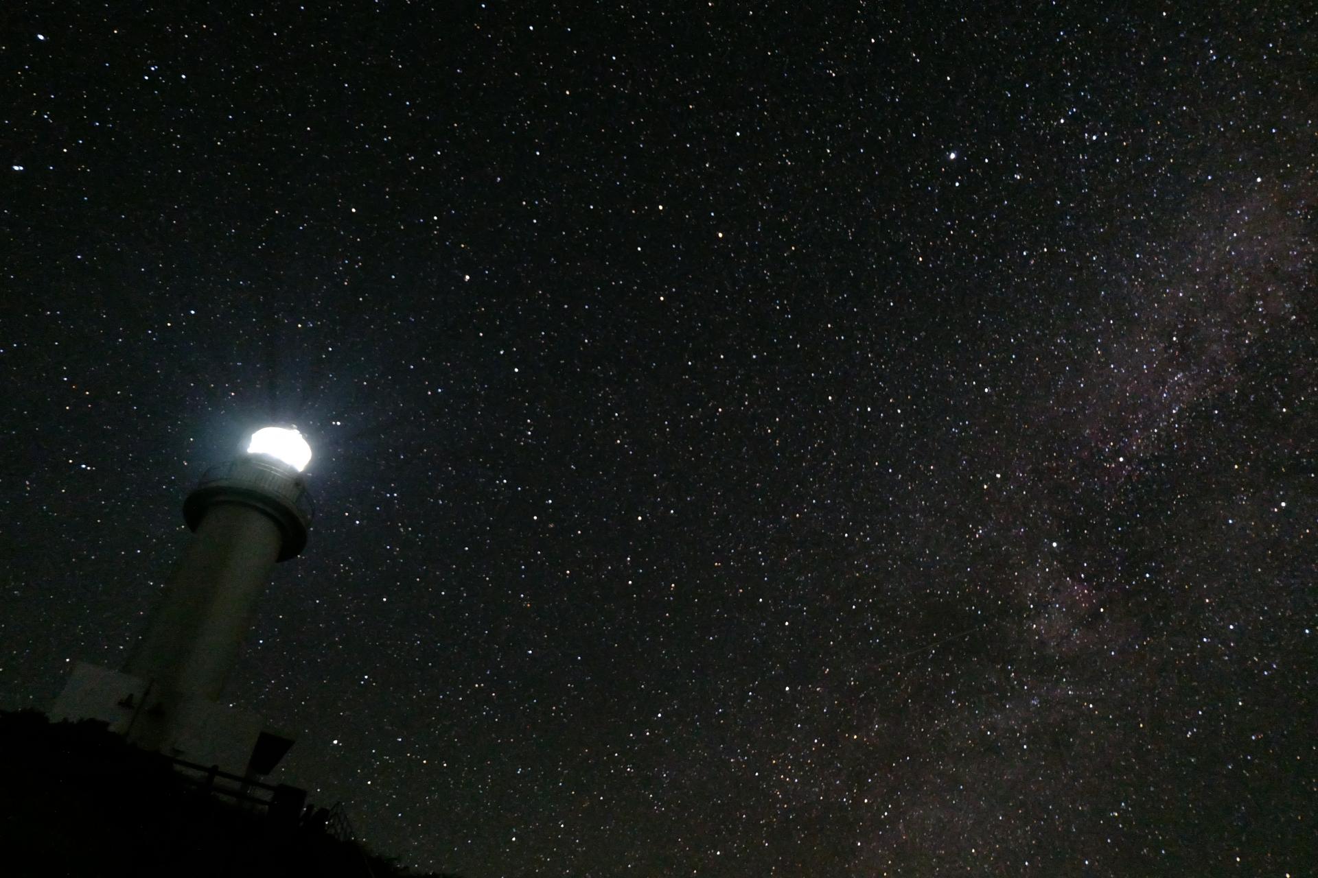 石垣島のバンナ公園から星空観賞