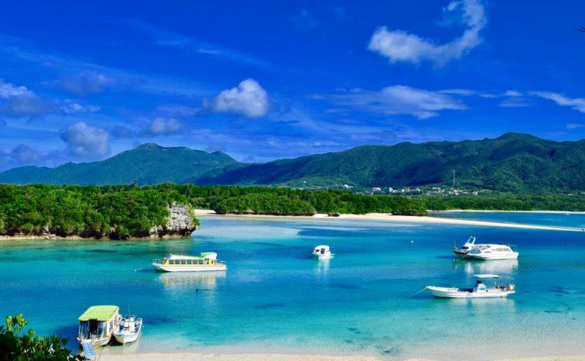 石垣島の観光名所川平湾