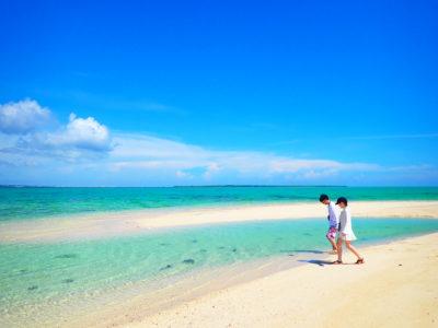 石垣島、幻の島上陸&シュノケーリングツアー、カップルで