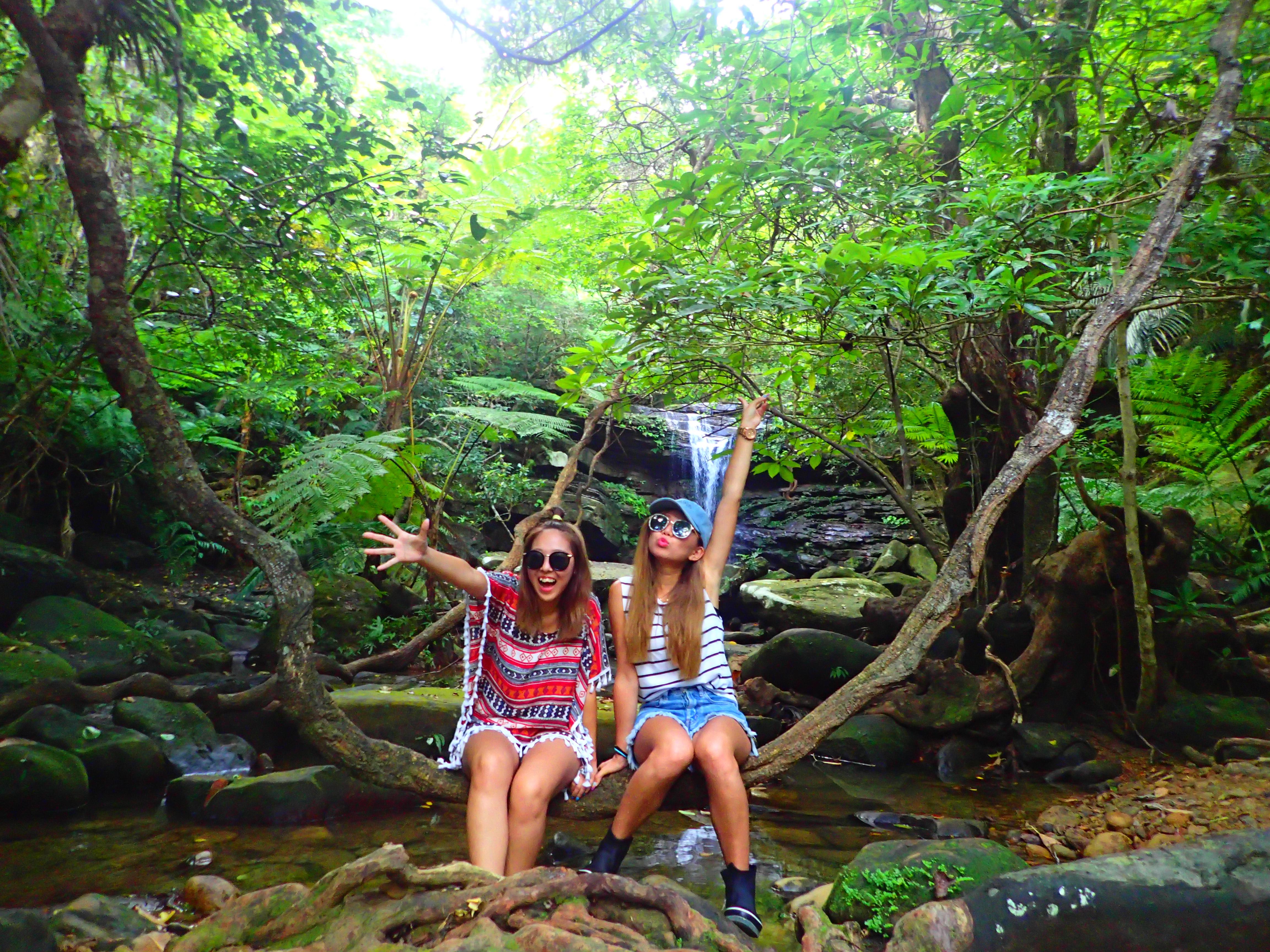 西表島クーラの滝