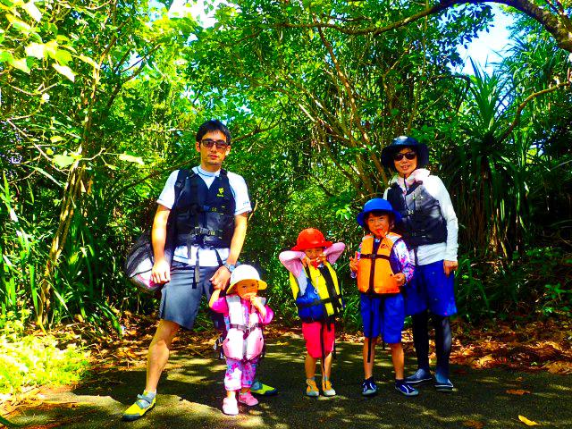 石垣島のマングローブに入る際の服装