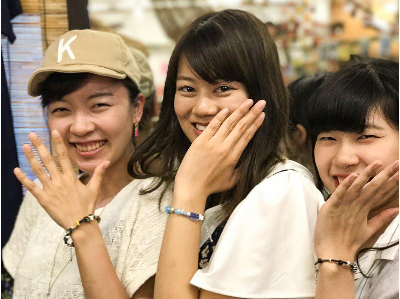 女子旅で石垣島アクセサリー作り