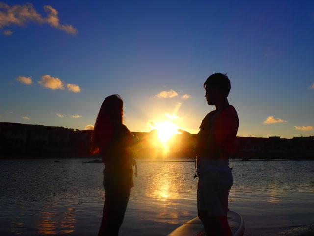 石垣島サンライズSUP,カップルで
