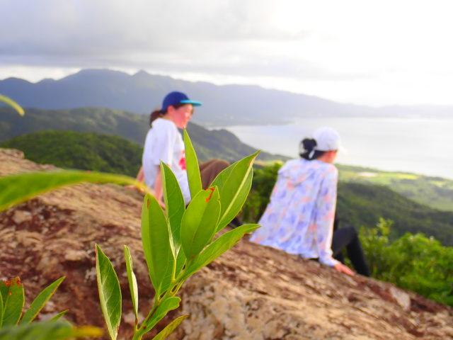 石垣島、マーペー岳トレッキング、サンセット