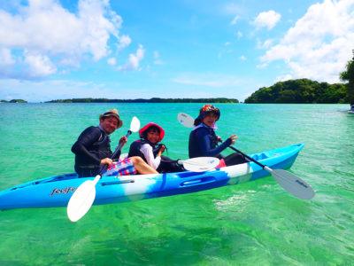 石垣島、シーカヤック、家族で、川平湾