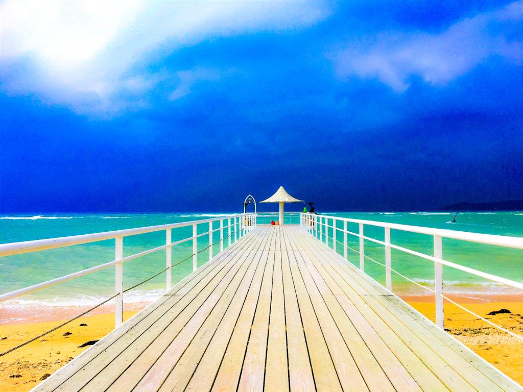 南国リゾート感漂うフキサビーチ