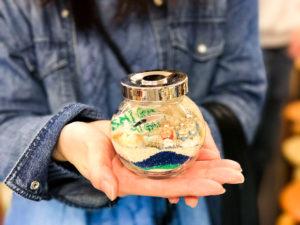 石垣島のガラス体験
