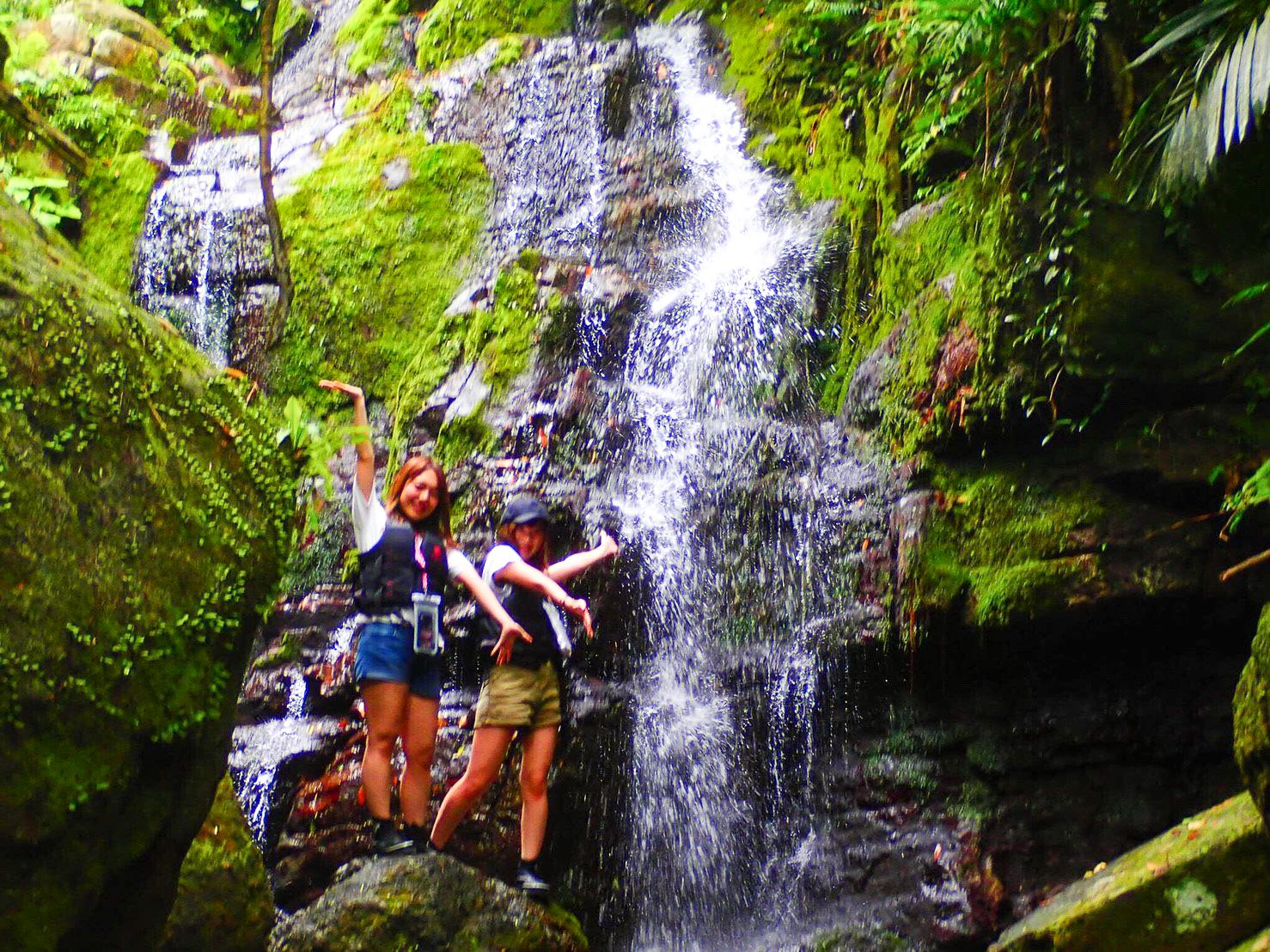 石垣島の滝を満喫