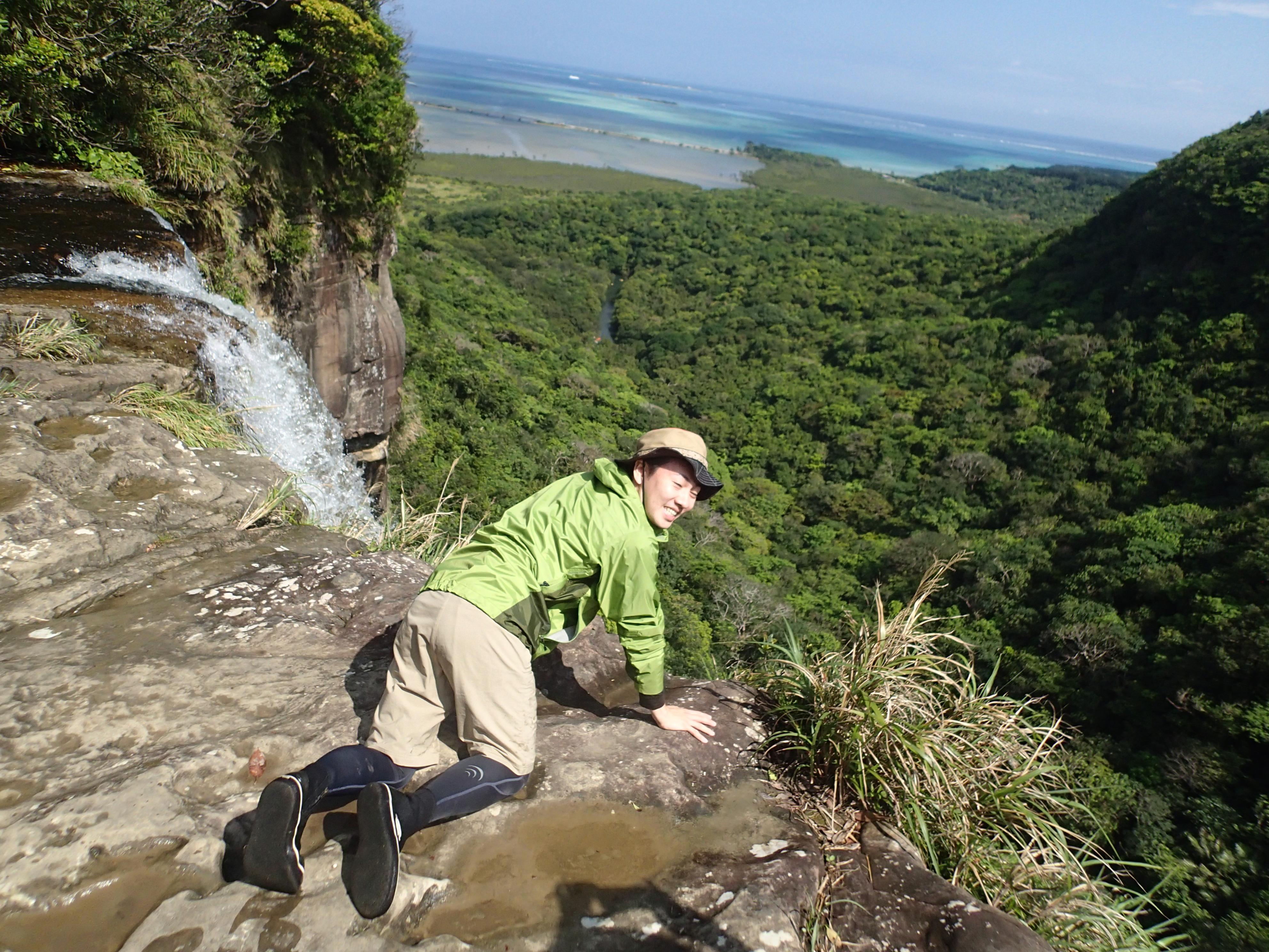 ピナイサーラの滝上からの絶景