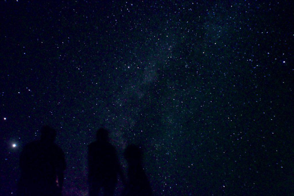 石垣島の満天の星空