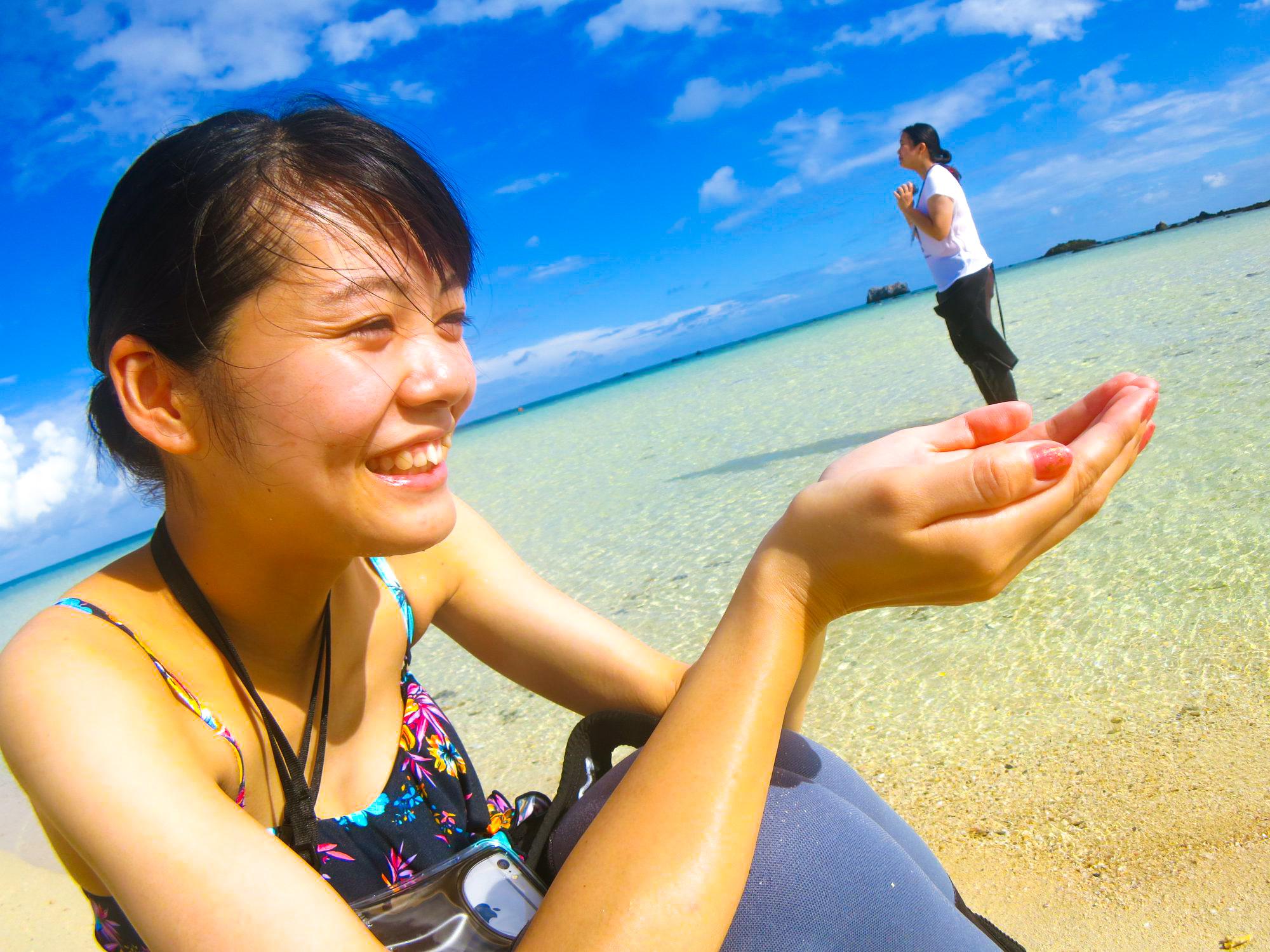 【地域共通クーポン対象】幻の島プレミアムシュノーケル&竹富島観光ツアー(No.365)