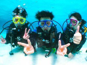 幻の島ダイビング