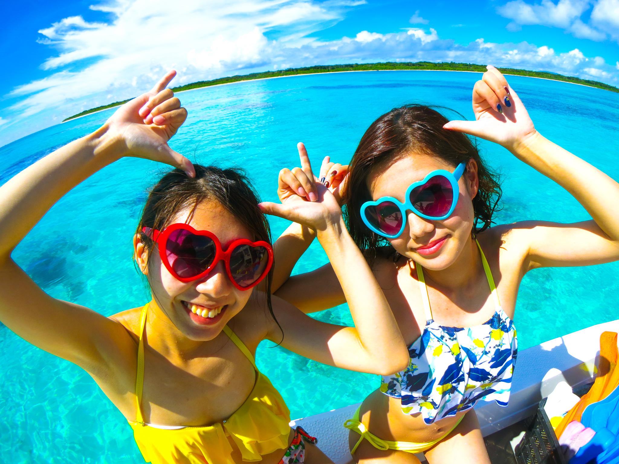 幻の島プレミアム体験ダイビング&竹富島観光ツアー(No.366)