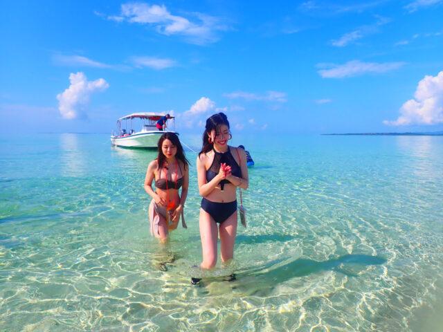 石垣島、幻の島シュノーケリング