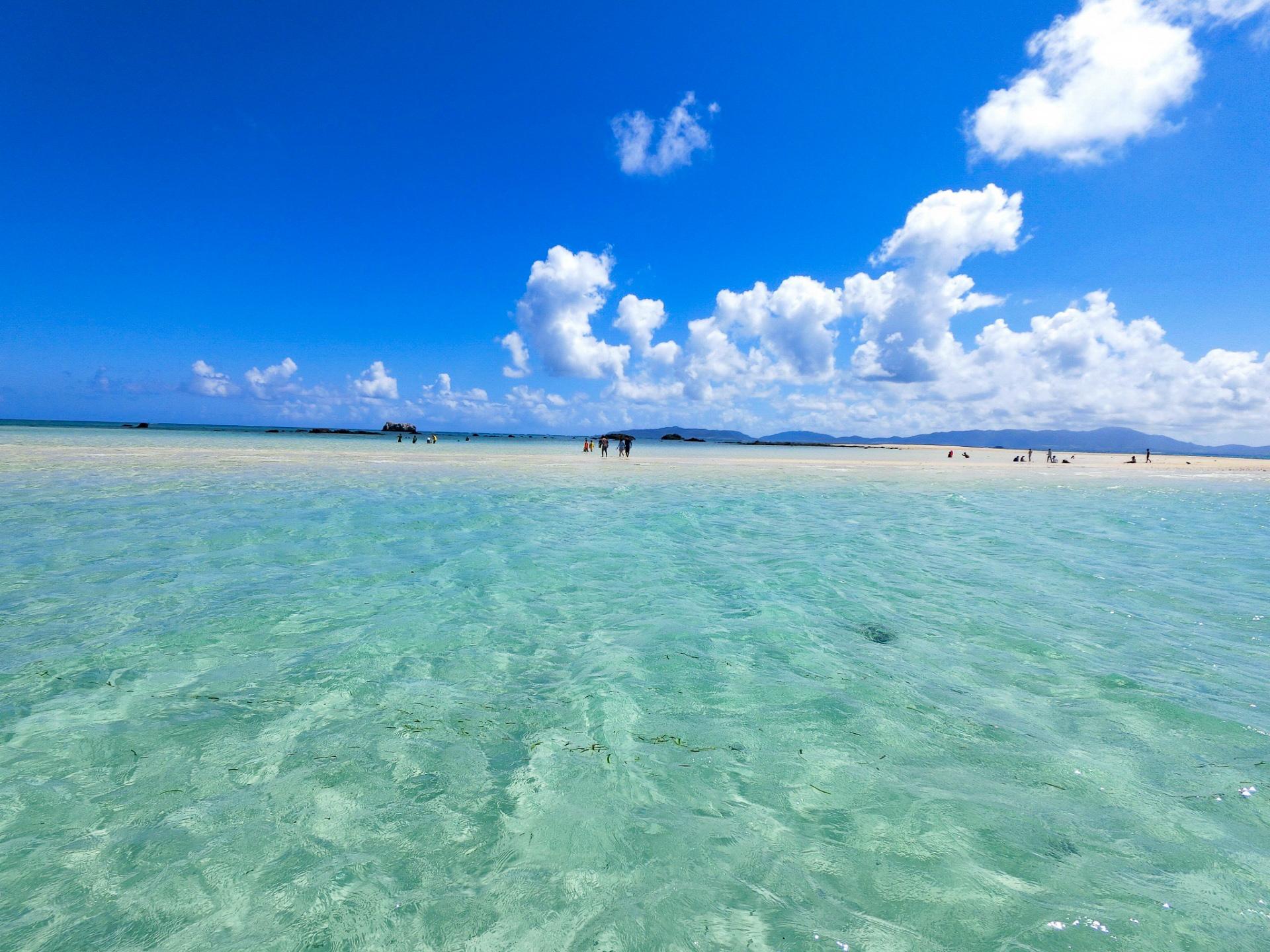バラス島と合わせて幻の島でのシュノーケリング