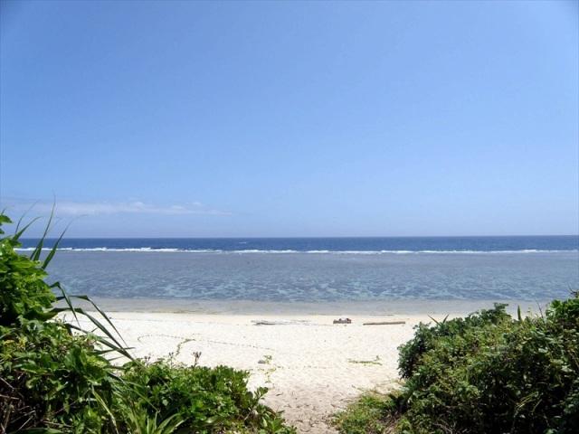 島の南にあるペムチ浜