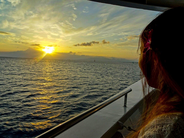 石垣島のサンセットクルーズツアー
