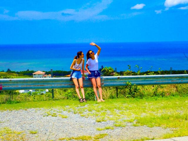 日差しの強い石垣島を女子旅で満喫